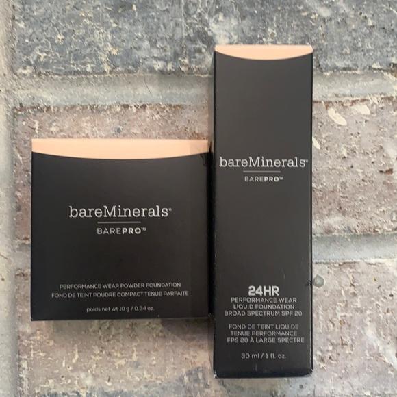 Bare minerals Bare Pro Foundation Duo Fair 01